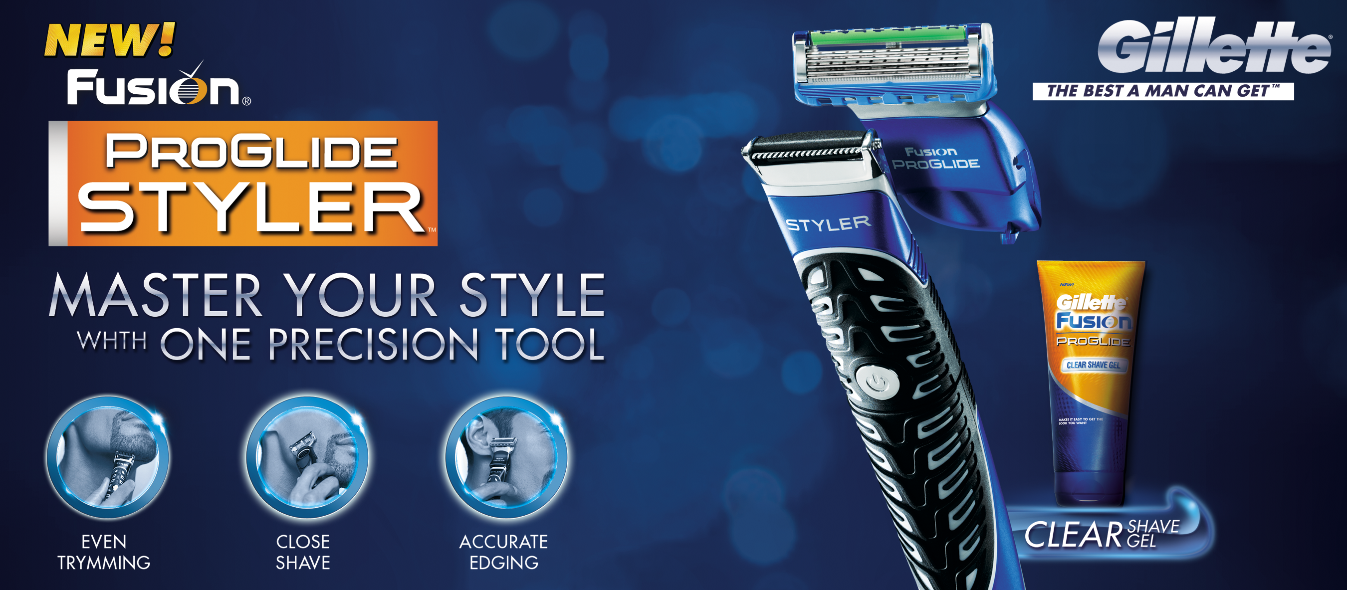 Gillette Fusion Proglide Power Styler 3 Manual Guide